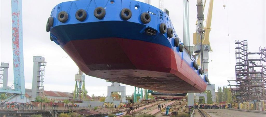 Supervision during construction of Barges